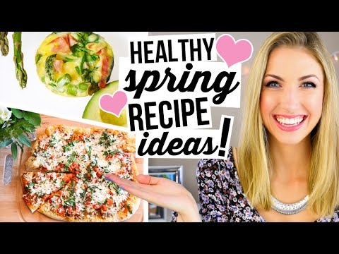 What I Eat In a Day #2    Healthy Spring Recipe Ideas!