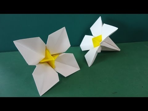 Flower Tutorial - 034 -- Narcissus