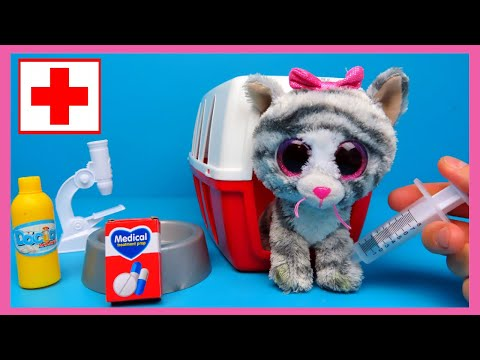 Dierendokter Speelset Poes beter maken | Family Toys Collector