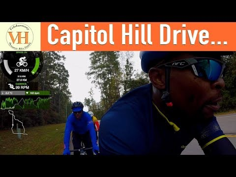 Group Ride Cycling 11172018   Capitol Hill Drive