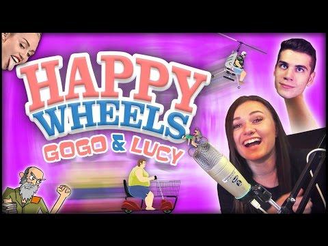 gogo - Happy wheels je geniálna hra,pri ktorej si vyhodíte z kopýtka a poriadne sa odreagujete,ale čo keď hráte so svojou žienkou? To sa len začne súpernie :P No kt...