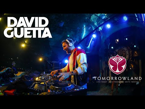 David Guetta live Tomorrowland 2018