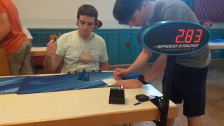 Done at Hessen Open 2017 Cube : Moyu Magnetic Pyraminx Huuuuuge thanks to Victor Colin for his pyraminx, and to Rui for...