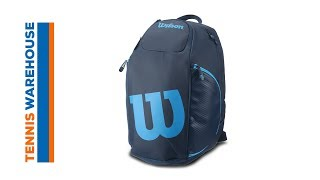 http://bit.ly/2wgWA3X Engineered for the athlete on the go, the Ultra Backpack has loads of features. There is a specific racquet...
