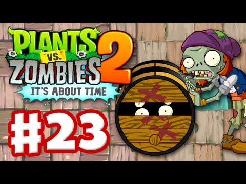 Plants vs. Zombies 2: It's About Time – Gameplay Walkthrough Part 23 – Dead Man's Booty (iOS)