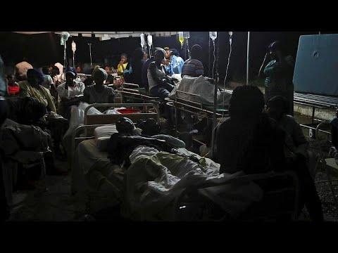 Φονικός σεισμός έπληξε την Αϊτή