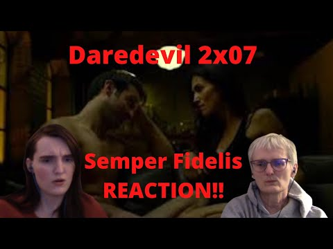 "Daredevil Season 2 Episode 7 ""Semper Fidelis"" REACTION!!"