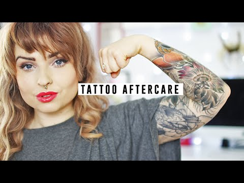 Tattoo Aftercare | Helen Anderson