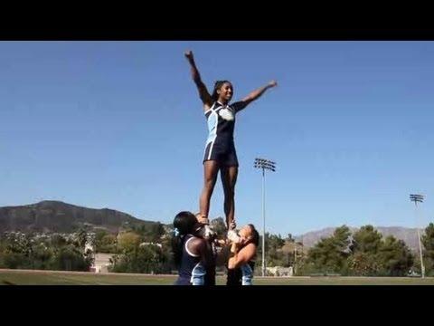 Basic Cheerleading Stunts