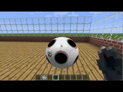 Minecraft 1.2.5 - Como instalar Mod de deportes! (Basket futbol y tenis)