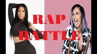 CARDI B vs NICKI MINAJ !!!RAP BATTLE!!! Part 2