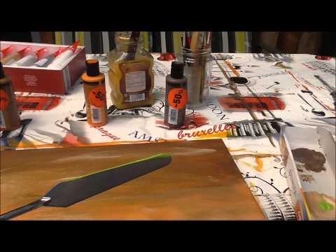 Acrylmalerei Schritt für Schritt ganz einfach