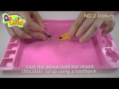 NO.2 Donut Making Series #2 as part of Miniature Series