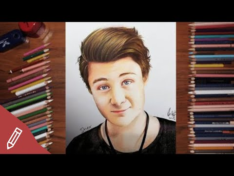 SPEED DRAWING: Dner / Felix Von Der Laden – REALISTIC PENCIL PORTRAIT *Youtuber Zeichnen*