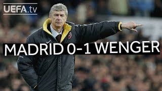Download Video WENGER'S GREAT VICTORIES: Real Madrid 0-1 Arsenal MP3 3GP MP4