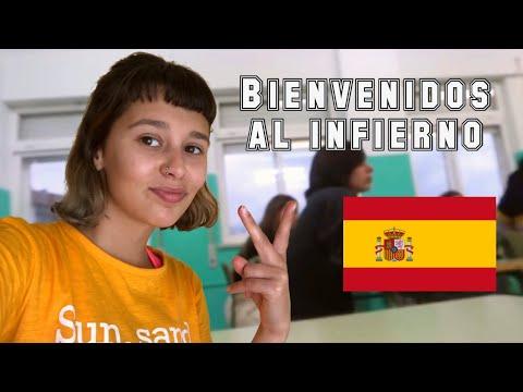 Primer dia de secundaria en España