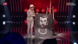 Everyone laughed at and belittled her chalk art performance... until the very end of the contest.