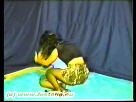 catfight in stockings