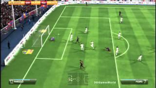 Video Fifa 14: Messi & Neymar VS C.Ronaldo & Gareth Bale Barcelona vs Real Madrid  (Full Game) HD Gameplay MP3, 3GP, MP4, WEBM, AVI, FLV Desember 2017