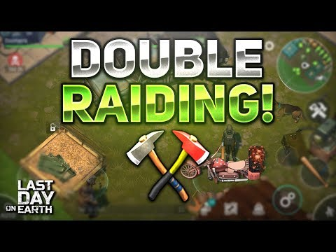 🔴 DOUBLE RAIDING! CLEARING FARM + TIPS AND TRICKS! - Last Day on Earth: Survival LIVESTREAM