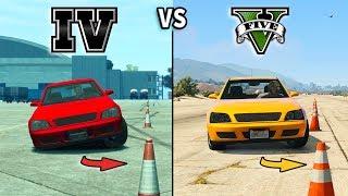 Video GTA V vs GTA IV - Car Gameplay Comparison MP3, 3GP, MP4, WEBM, AVI, FLV Agustus 2017