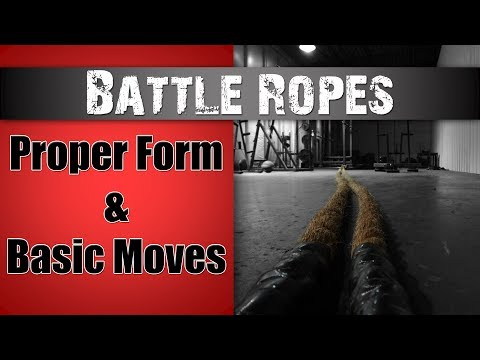 Battle Ropes - Proper Technique Explained!