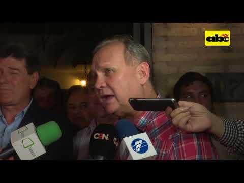 Ferreiro apoya dupla presidencial Alegre - Rubín
