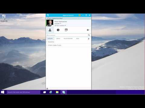 Office 2016 – Lync becomes Skype for Business