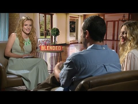 Blended Bella Thorne Interviews Adam Sandler and Drew Barrymore