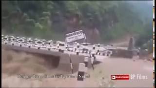 Danger River Flood in Pyuthan Nepal 2016 ( प्युठानको बाढी  )