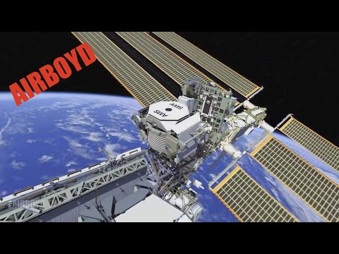 spectrometer - http://airboyd.tv Courtesy: NASA JSC The Alpha Magnetic Spectrometer (AMS) is flying to the station on STS-134. The AMS experiment is a state-of-the-art part...
