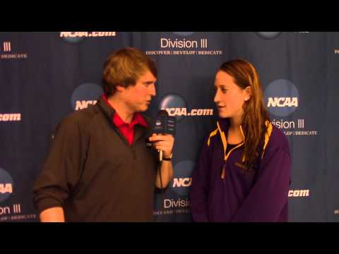 Sarah Thompson, Williams - 500 Free Women's Champion  Post-Race Interview