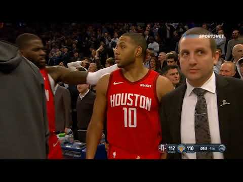 Eric Gordon's clutch three against the Knicks