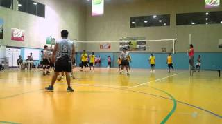 PEACE M vs Powerbankz Set 2 FIVBA V-League 2015, công phượng, u23 việt nam, vleague