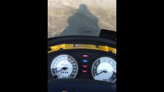 3. 2002 MXZ 500 top speed run