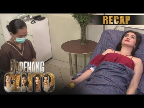 Daniela donates blood to Cassie | Kadenang Ginto Recap (With Eng Subs)