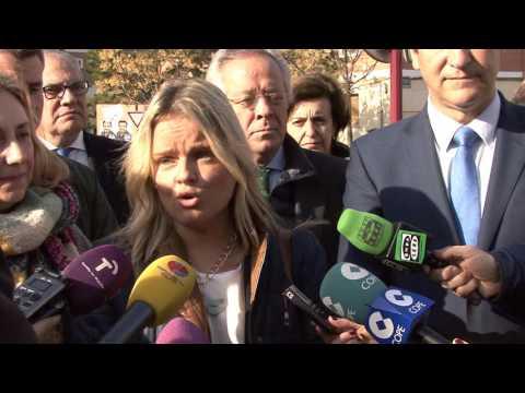 Mari Mar Blanco revindica en Guadalajara la unidad política ante el terrorismo