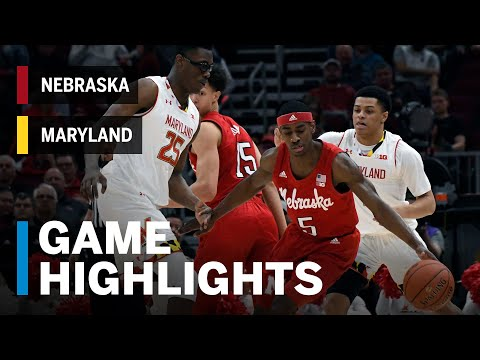 Highlights: Cornhuskers Upset the Terrapins | Nebraska vs. Maryland | March 14, 2019