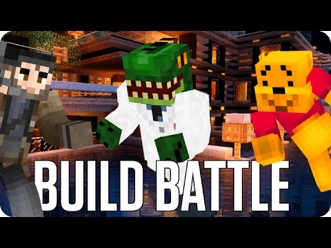 ¡HOMBRE LAGARTO! BUILD BATTLE | Minecraft con Luh