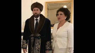 Gone (viral) In 60 Seconds: Bizarre photo of Nicolas Cage in traditional dress during visit to Kazakhstan gets the meme treatment...
