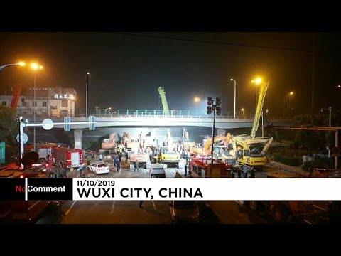Νεκροί μετά από κατάρρευση γέφυρας στην Κίνα