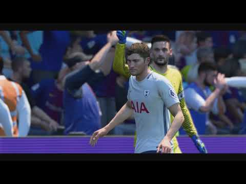 Barcelona Vs Tottenham Hotspur International Champions Cup 2018 - Full Match Sim (FIFA 18)