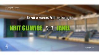 [GLF] Nbit Gliwice vs Janel (8 kolejka) - skrót