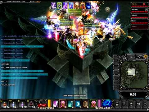 xexax - megamix gana el siege ante miragge.-