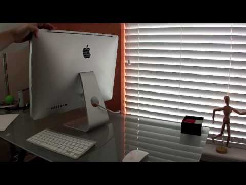 21.5 imac review - We are unboxing and reviewing the mid 2011 21.5