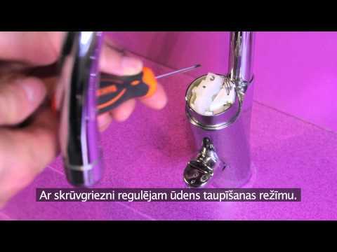 Adjustment Nautic single lever faucet