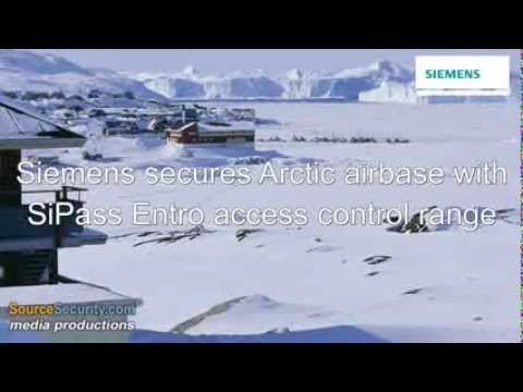 Siemens SiPass Entro Access Control System guards Greenland's Thule Air Base