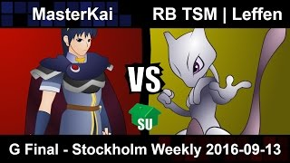 Leffen finishes yet another weekly with his Mewtwo