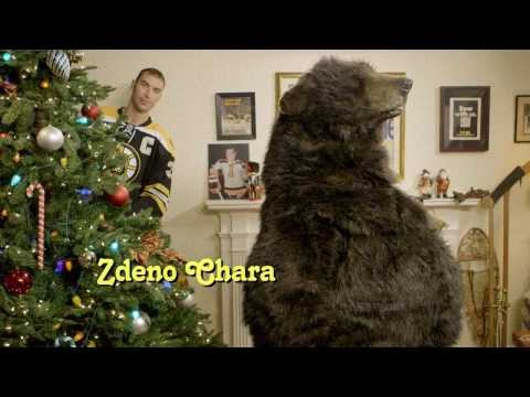 The Boston Bruins bring back Bear & The Gang for Christmas  video