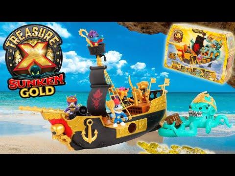 Trésor X Sunken Gold Le Bateau de Pirates un navire extraordinaires et un trésor en or Review